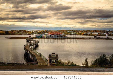 Le pays de la Sagouine, Bouctouche, New Brunswick, Maritimes, Canada