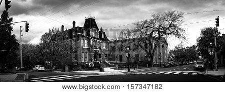 Downtown of Fredericton, New Brunswick, Maritimes, Canada