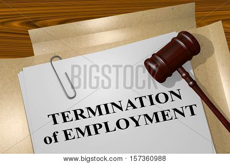 Termination Of Employment Concept