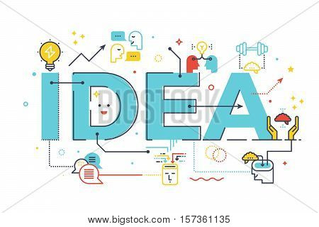 Creative Idea Word