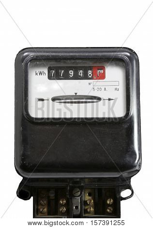 Meter For Measuring The Electric Power