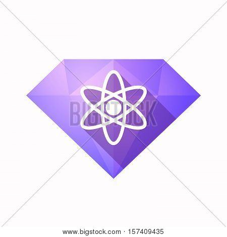 Isolated Diamond With An Atom