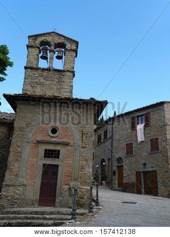 church of Saint Christopher in Cortona. Italy