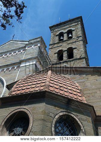 the shrine of St. Margaret of Cortona
