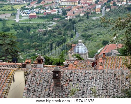 Cortona the Tuscan town of Etruscan origin