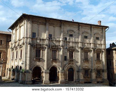 Montepulciano - Palazzo Tarugi attributed to Antonio da Sangallo the Elder or Jacopo Barozzi da Vignola.