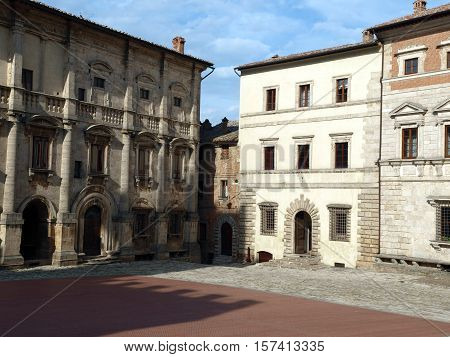 Piazza Grande and Palazzo dei Nobili - Montepulciano