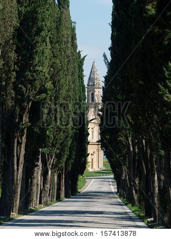 The Sanctuary Of The Madonna Di San Biagio Montepulciano TuscanyItaly