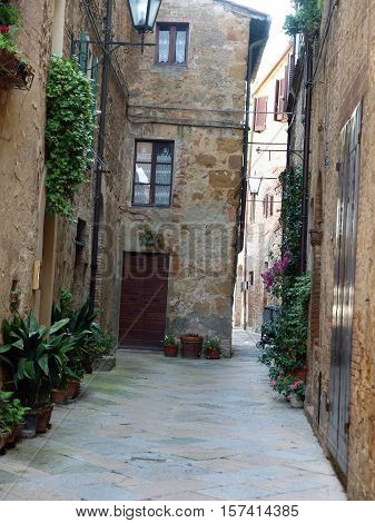 Pienza - a city with a delicious cheese and beautiful architecture