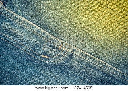 Blue Jeans Crotch