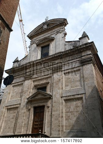 San Martino is a church known from the 12th century; it was enlarged and renovated in the 16th century. In 1613 the façade was built and the bell tower completed in 1738.