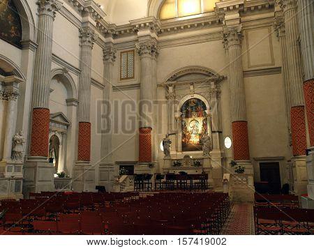 VENICE, ITALY - MAY 22, 2010: Venice - Church of San Vidal. Sestiere of San Marco