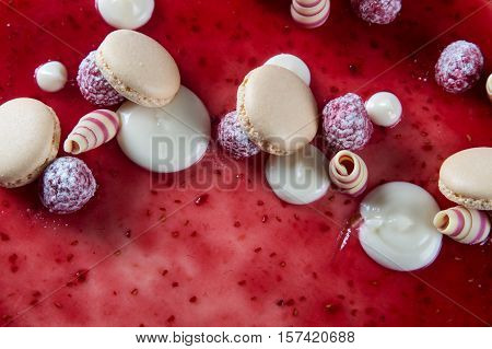 Red Cake Decorations
