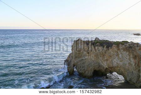 Natural Bridge On The Beach