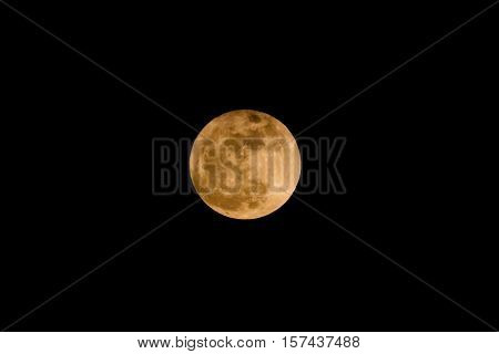 super full moon Nov 14 2016 THAILAND