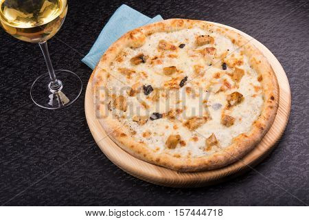 Hot Pizza With Truffles