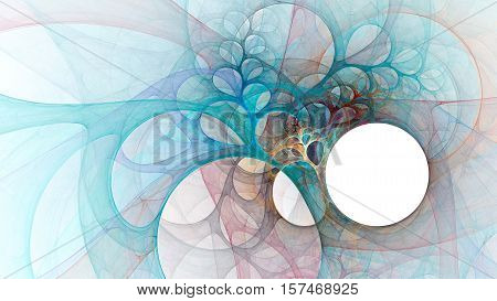 Angel wings. Bright impenetrable web. 3D surreal illustration. Sacred geometry. Mysterious psychedelic relaxation pattern. Fractal abstract texture. Digital artwork graphic astrology magic