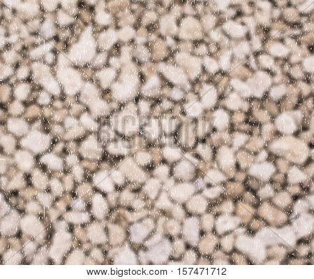 Brown background like the stone with white speckles. Vector illustration