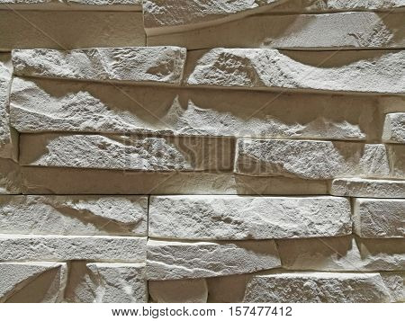 Monotone Texture Of The Stone.