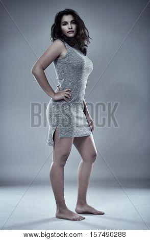 Sexy Glamorous Hispanic Woman