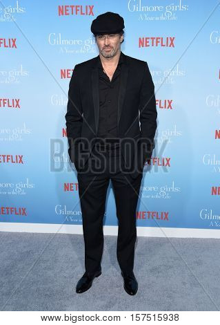 LOS ANGELES - NOV 18:  Scott Patterson arrives to the Netflix's 'Gilmore Girls: A Year In The Life' Premiere on November 18, 2016 in Westwood, CA