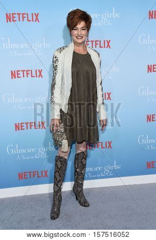 LOS ANGELES - NOV 18:  Carolyn Hennesy arrives to the Netflix's 'Gilmore Girls: A Year In The Life' Premiere on November 18, 2016 in Westwood, CA