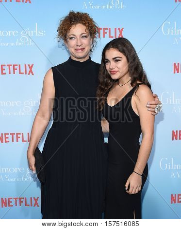 LOS ANGELES - NOV 18:  Alex Kingston and Salome Haertel arrives to the Netflix's 'Gilmore Girls: A Year In The Life' Premiere on November 18, 2016 in Westwood, CA