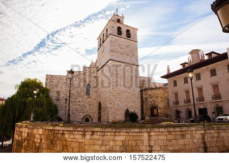 View of the Cathedral Basilica of the Assumption of the Virgin Mary of Santander