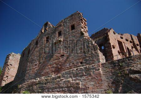 Hohenecken Castle Exterior Walls