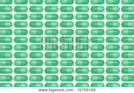 Antibiotic Pills as a Medical Science Background