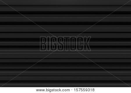 abstract black line random position background 3d rendering horizontal line