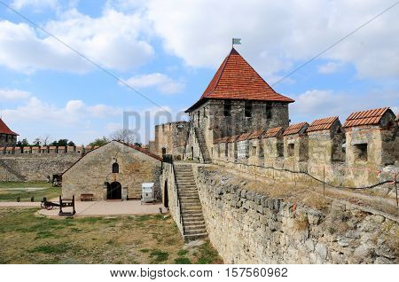 fortress in Bender, Moldova Republic of Transnistria - October 01 2016. Bender Transnistria - Bendery Fortress Cetatea Tighina in Transnistria a self governing territory not recognised by United Nations