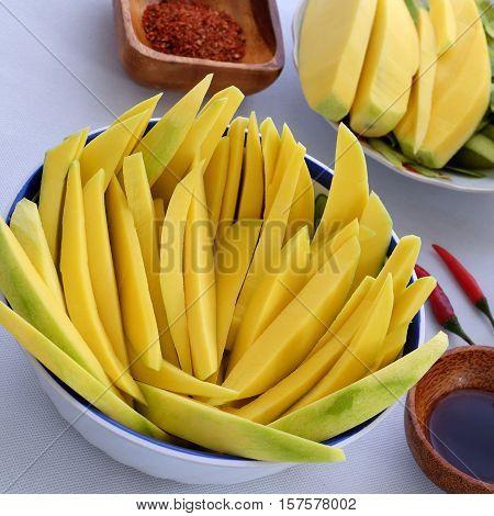 Vietnamese Fruit, Green Mango