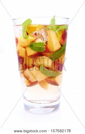 Water With Peach