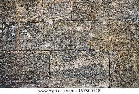 Old stone wall close-up . Perfect for background