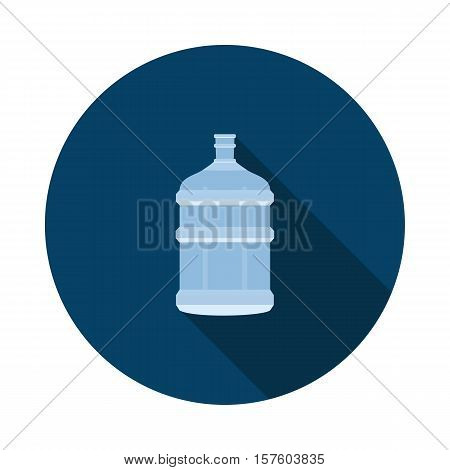 bottle from the water cooler in vector format eps10