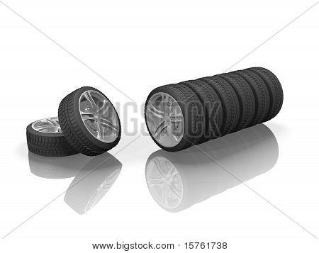 Wheels 3-scene