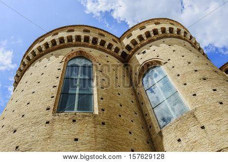 Basilica della Santa Casa in Loreto Marche Italy