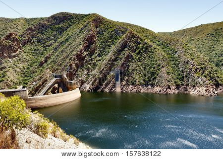 The Low Water Level Of The Kouga Dam