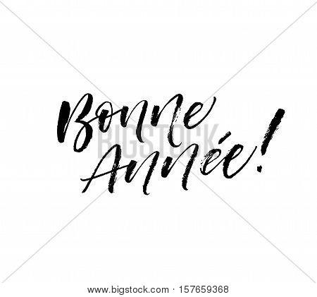 Bonne Annee Postcard Vector & Photo (Free Trial) | Bigstock