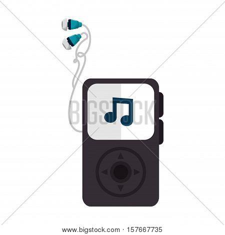 mp3 audio player icon vector illustration design