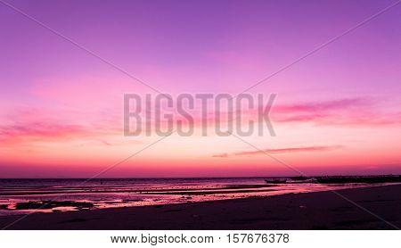Darkening Heavens Bright Horizon