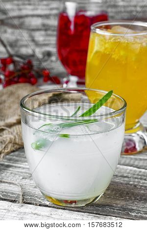 Healing Drink With Aloe