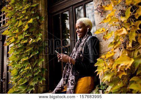 African American Woman Autdoor