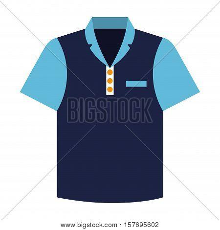 tennis shirt uniform icon vector illustration design
