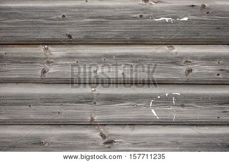 Modern Hand Hewn Natural Beam Cabin Wall Facade Fragment Background