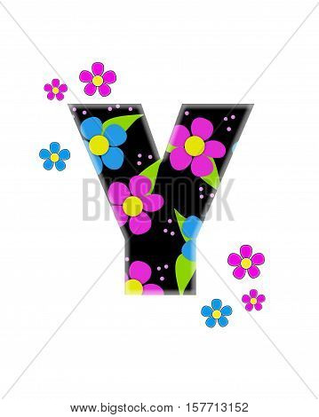 Alphabet Flower Topia Y