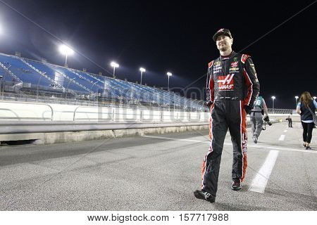 Homestead, FL - Nov 18, 2016: Kurt Busch (41) hangs out on pit road prior to qualifying for the Ford EcoBoost 400 at the Homestead-Miami Speedway in Homestead, FL.