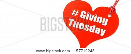 Giving Tuesday Sales Ticket Social Media Banner
