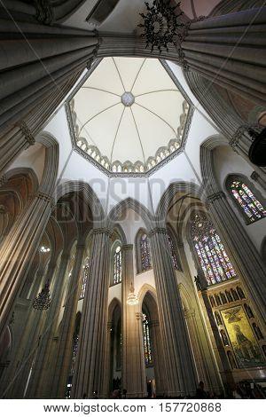 Se Metropolitan Cathedral In Sao Paulo